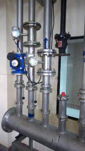 Cirrus Flow meters cluster